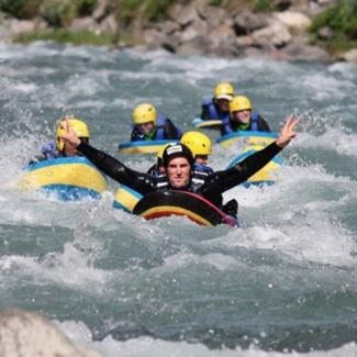 4. Combiné rafting + hot dog ou hydrospeed