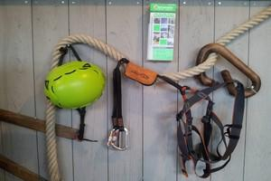 1. Kit de via ferrata demi-journée