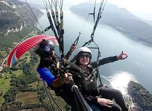 2. Vol biplace parapente decouverte