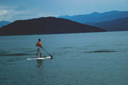 stand up paddle lac du bourget